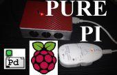 Pur Pi : Contrôler les effets de pédale personnalisé sur une facture pro forma de framboise avec un smartphone