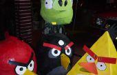 Costume d'oiseaux en colère