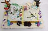 Alice In Wonderland livre Cake