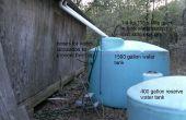 Toute la maison l'eau de pluie citerne eau système