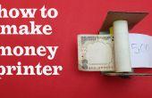 Comment faire argent imprimante (tour de magie simple)
