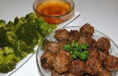 Boulettes de viande thaïlandais