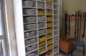Recyclé atelier organzier