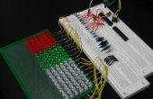 GEEKS sont KEWL : Contrôlé par Arduino 18 x 6 LED Matrix (en cours)