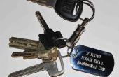 Utilisation de courriel et un Dogtag pour obtenir vos clés perdues (et autres choses) en arrière.