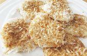 Gâteaux de riz gluant coco / Palitaw