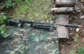 La bête tourne un Paintball Gun dans un Sniper fusil Airsoft