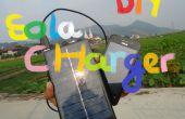 DIY USB panneau solaire chargeur de téléphone
