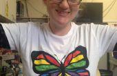 Faible coût sérigraphié Coloriage T-shirts