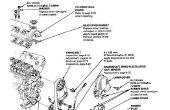 En remplaçant le moteur pompe à eau et poulie de tendeur (Honda Civic D15B).