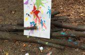Peinture avec des oeufs