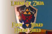 Légende du bouclier Zelda Hylian