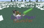 Minecraft : Ender Pearl Launcher
