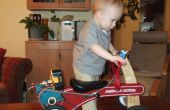 Multnomah County Chopper - Radio Flyer Tiny Trike électrique Mod