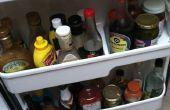 Comment fixer une étagère de porte de réfrigérateur cassé