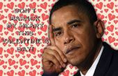 Cartes Saint-Valentin présidentielle