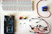 Arduino : Servo avec boutons de contrôle