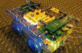 Danse danse Roverbot ! Construire un Robot Programmable de Snap Circuits lumière danse activés.