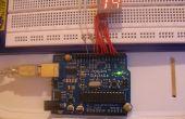 Minuterie de compte à rebours pour le segment Arduino 7