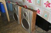 Ancien tiroir haut-parleurs