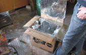 Comment faire un four solaire en carton Simple
