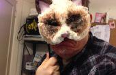 Masque de chat grincheux