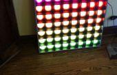 PixelLux-A 64 pixels RGB LED Video Screen