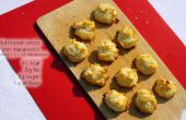 Boules de neige noix de coco (macarons) (GF)