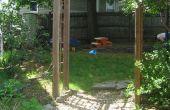 Construire une tonnelle de jardin en bois