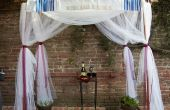 Tuyau en PVC et en pot plante houppa Frame