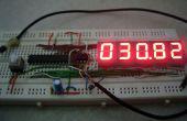 7 segment thermomètre numérique à l'aide de ATtiny 85