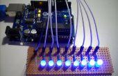 Différentes méthodes de conduite 7 Segment LED affiche avec Arduino