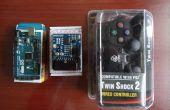 Arduino : Contrôle de Servo avec manette PS2 (programme Visuino)