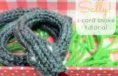 Cordon en I serpent tutoriel