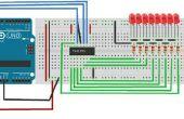 Comment faire un Circuit de résistance de décalage 74HC595