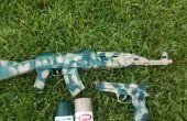Pistolet Camo pour Airsoft et jouets