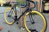 Restaurer et transformer un vieux vélo en un élégant Fixie