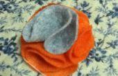 Fleur de tissu feutre