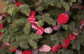 Guirlande feutré pour votre arbre de Noël