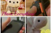 Téléphone bricolage accessoires + cas de charge