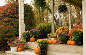 Décoration extérieure pour Thanksgiving