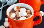 Chaud chocolat & guimauves additionnés de rhum