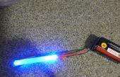 Super cool de feu arrière de vélo LED lumineux bâton de colle fibre Flair