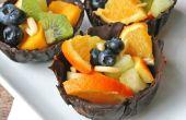 Dessert mini bols de chocolat