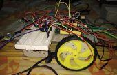 Obstacle en évitant le Robot en utilisant le Module IR interfacé avec une planche Mediatek LinkIt
