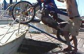 Obtenir une moto à bord d'un voilier