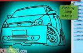 Comment dessiner une voiture Simple