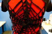 Conception de T-shirt DIY : toile d'araignée - aucun cousez