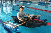 Duct tape et bâche Kayak