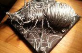 Grosse araignée avec fil